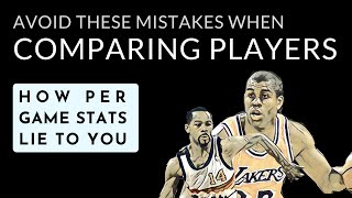 NBA Stats 101: Points per game, rebounds & assists | The Michael Adams corollary