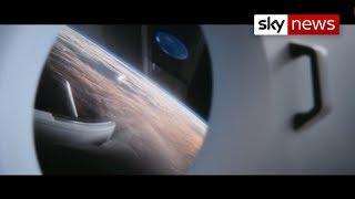 Blast off! Elon Musk's SpaceX launches test flight