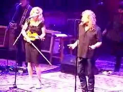 Robert Plant and Allison Krauss - I'm In the Mood