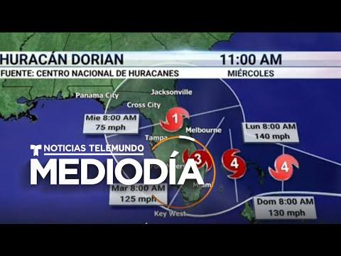 La Florida Se Prepara Para La Llegada Del Huracán Dorian | Noticias Telemundo