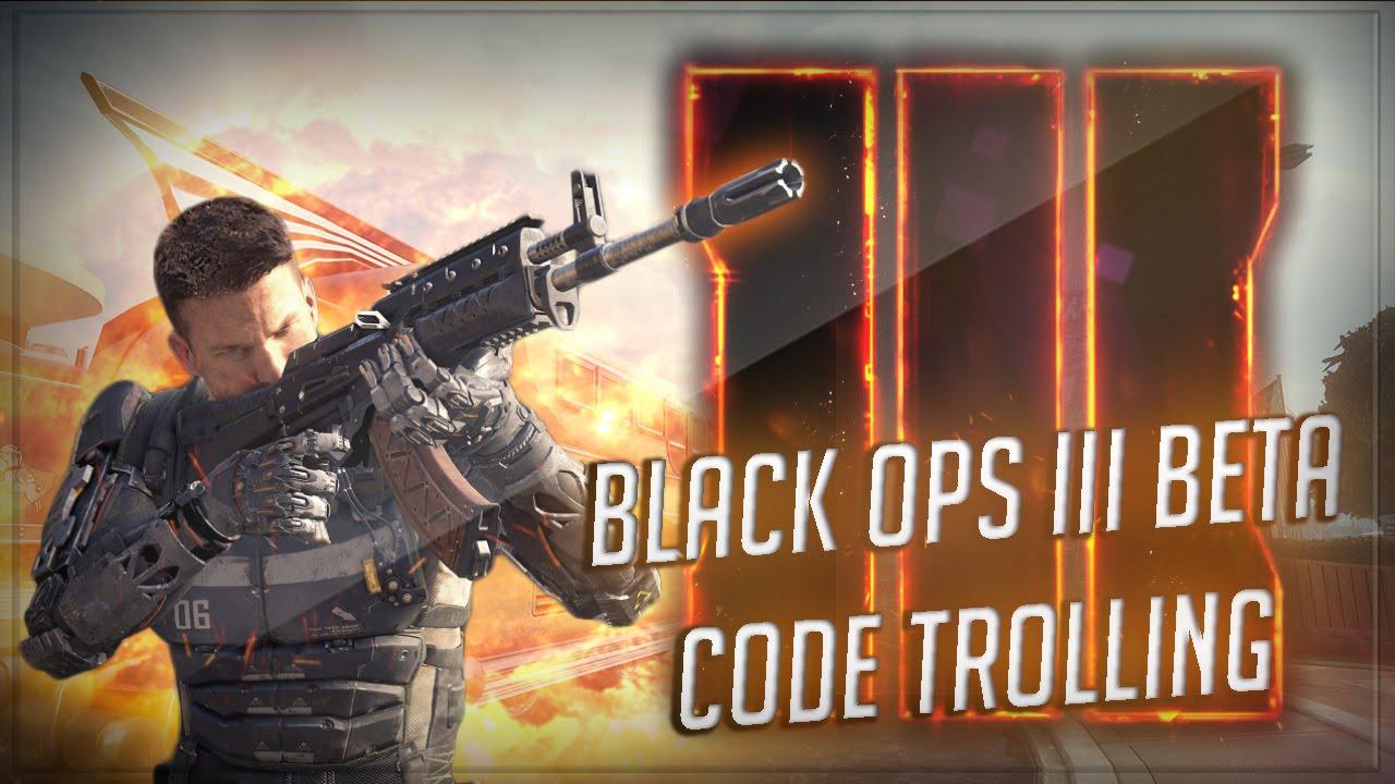 Black ops 3 Beta Code Troll On Faze Kid! (Black Ops 2 Trolling)