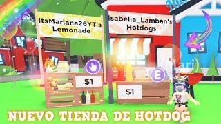 NUEVA TIENDA DE HOTDOG EN ADOPT ME!! ♥Roblox♥