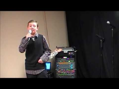 Interview & Performance by 9 yr. old Austin Turner