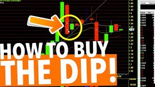 DAY TRADING! HOW TO BUY THE DIP!
