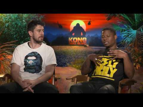 Kong: Skull Island - Jason Mitchell and Toby Kebbell  interview