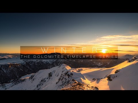 Spettacolare Timelapse delle Dolomiti in 4K