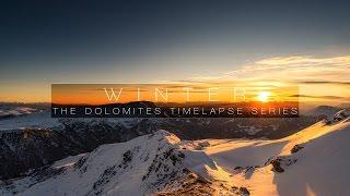 WINTER | DOLOMITES 4K TIMELAPSE