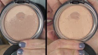 How To Remove Hard Film from Powder Foundation, Blush or Bronzer Thumbnail