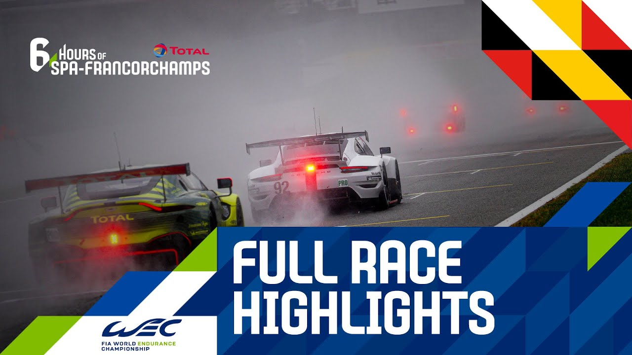 Total - hours of Spa-Francorchamps - Full race Highlights