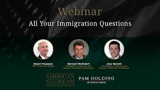 Webinar - All Your Immigration Questions