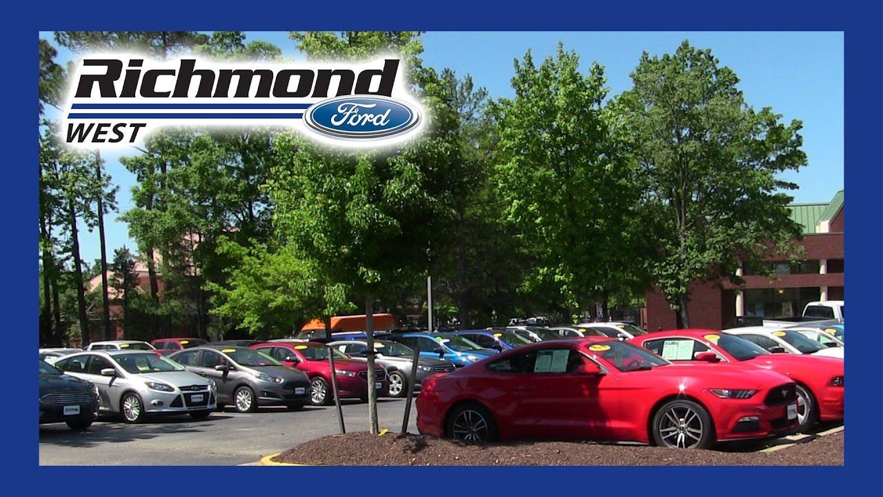 Used Car Dealership In Short Pump Va Richmond Ford West