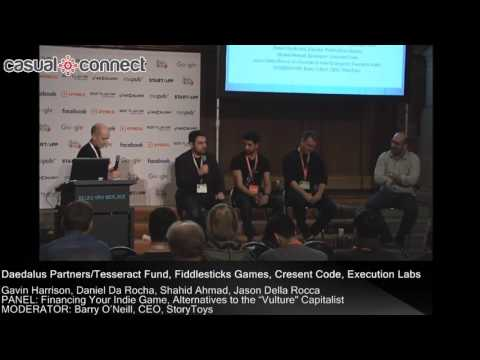 Financing Your Indie Game, Alternatives to the Vulture Capitalist | Panel