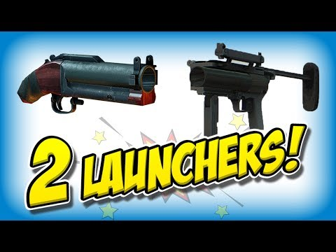 DOUBLE Grenade Launcher build (Payday 2 NEW launcher!)