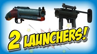 Gambar cover DOUBLE Grenade Launcher build (Payday 2 NEW launcher!)