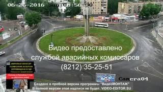 ДТП 'кольцо' Сыктывкар 26.06.2016