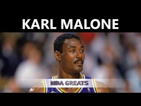 Karl Malone Highlights (NBA Highlights) - Karl Malone Top NBA Plays