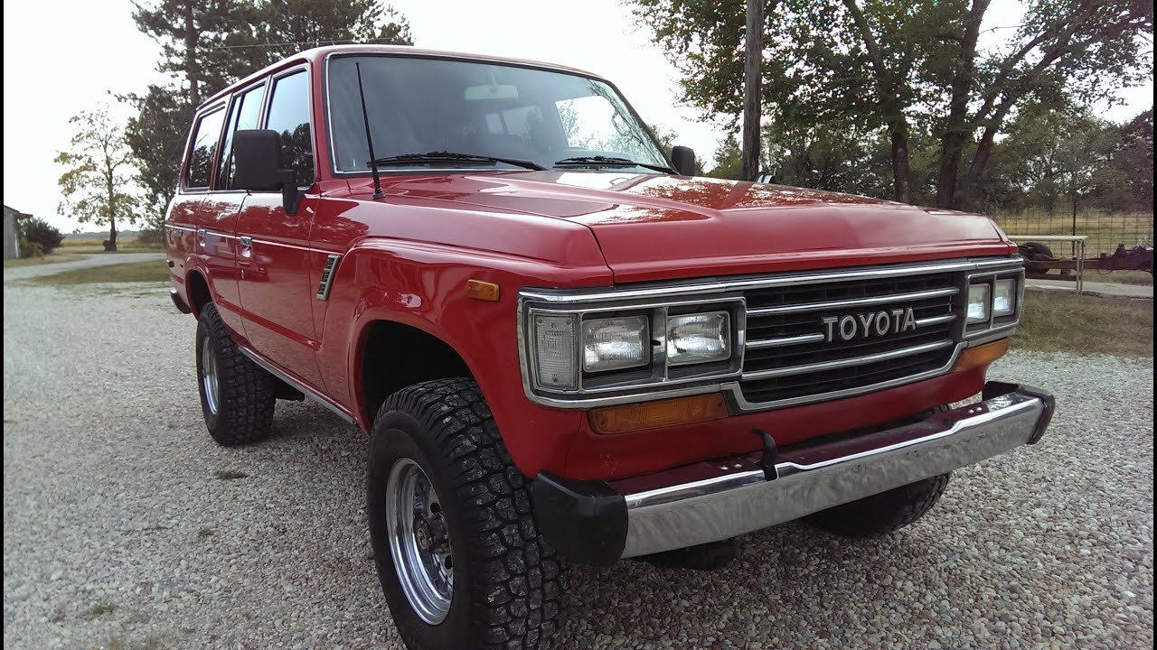 Land Cruiser >> 1989 Toyota Land cruiser fj62 restored - YouTube