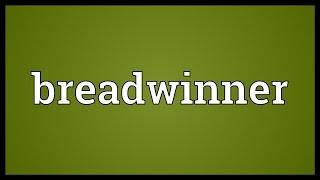 Breadwinner Meaning