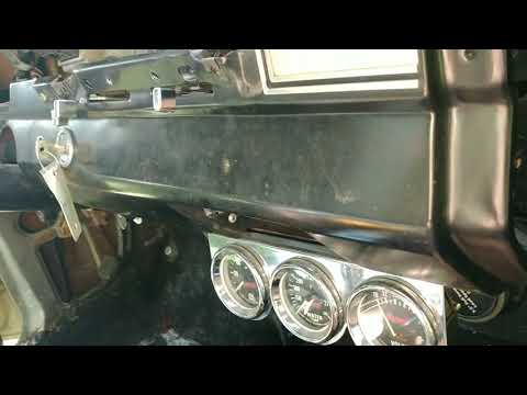 1966 Ford Fairlane Dashboard Removal