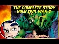 What Did The Hulk Do Before He Died (civil War 2) - Complete Story