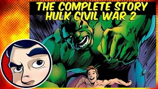 What Did The Hulk Do Before He Died? (Civil war 2) - Complete Story