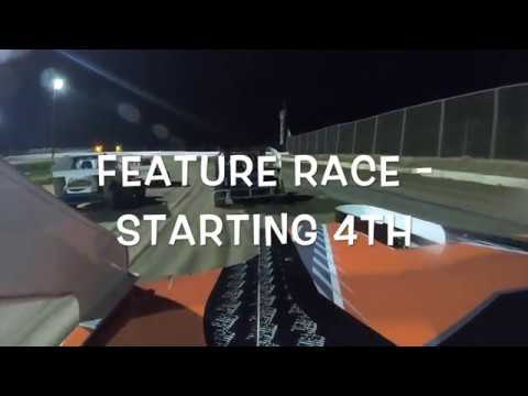 Started 4th in the Feature in only our 3rd race overall. Apologies for the mud on the lens toward the end...never got a chance to wipe it off. Great night overall ... - dirt track racing video image
