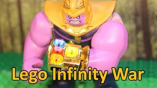 Avengers Infinity War: Thanos Gets All The Infinity Stones IN LEGO