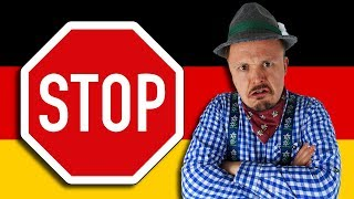 Don't Come To Germany If...🛑 Reasons Why YOU Might Want To Stay Out Of Deutschland | Get Germanized