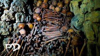 WARNING Paranormal Activity At The Paris Catacombs Caught On Camera