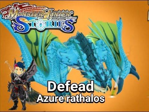 azure rathalos monster hunter stories