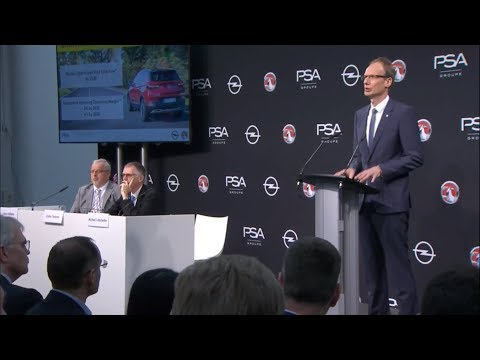 "Opel/Vauxhall ""PACE!"" Strategic Plan Unveiled 