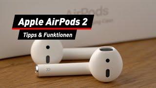 Apple AirPods 2: Tipps, Hilfe, Funktionen | deutsch