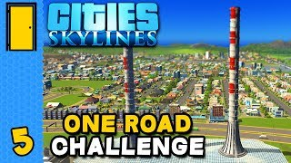 Power to the People! | Cities: Skylines One Road Challenge - Part 5