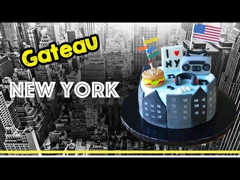 Deco gateau new york