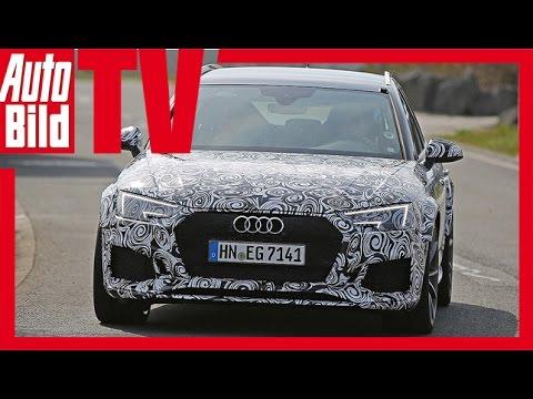 Erlkönig Audi RS4 Avant (2017)