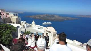 Wedding(s) in Fira, Santorini (Greece)