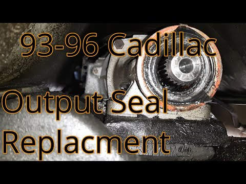 93-96 Cadillac Fleetwood Output Shaft Seal Replacement