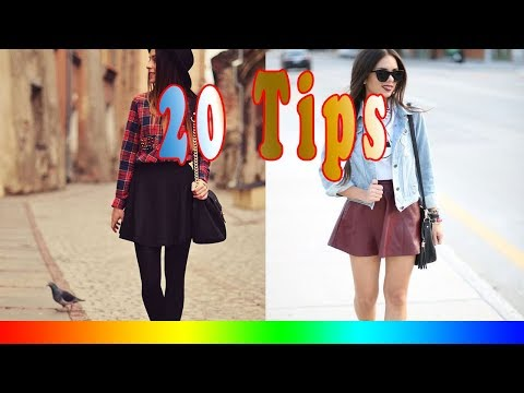 20 Style Tips On How To Wear Skater Skirts