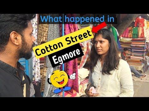 Cotton Street Vlog - Egmore    Chennai Vlogger -Tamil