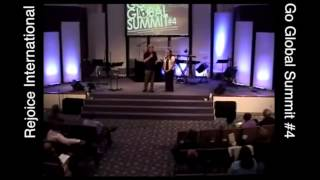 "Pastors George and Cathy Black ""Welcome to the Summit""."