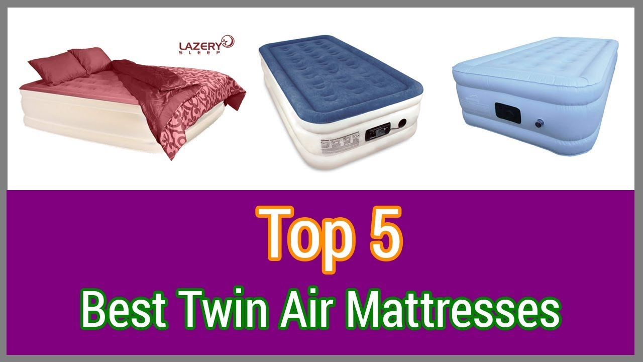 best twin air mattress AIR MATTRESS : Top 5 Best Twin Air Mattresses (2018)   YouTube best twin air mattress