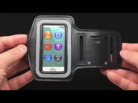 Generic Sports Armband Pouch for iPod nano 7th Generation • Unboxing 4K