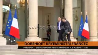 Dorehiqet kryeministri francez - Top Channel Albania - News - Lajme