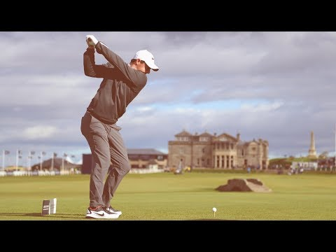 Amazing Rory McIlroy Drive at St Andrews