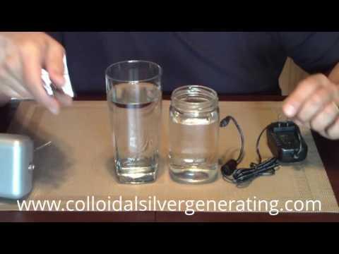 Buy a Colloidal Silver Generator w  99 999% Silver Rods