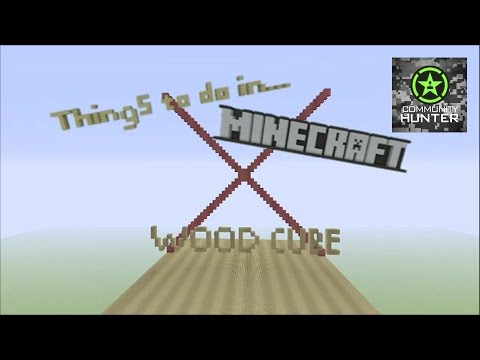 Wood Cube X - Minecraft - Things to do in