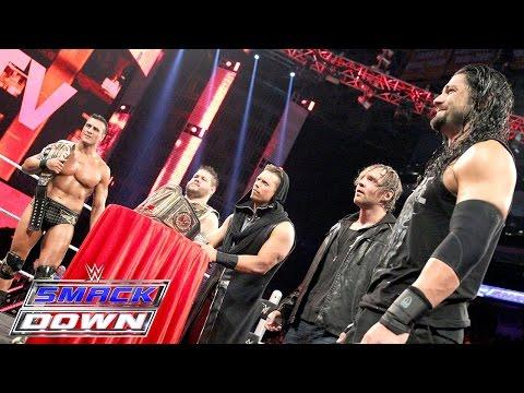 'Miz TV' with guests Reigns, Ambrose, Del Rio & Owens: SmackDown, Nov. 19, 2015