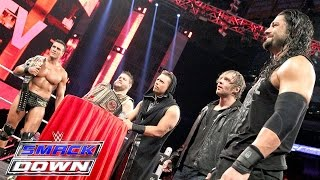 """Miz TV"" with guests Reigns, Ambrose, Del Rio & Owens: SmackDown, Nov. 19, 2015"