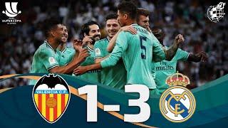 Resumen | Valencia CF 1 - 3 Real Madrid CF | Semifinales Supercopa