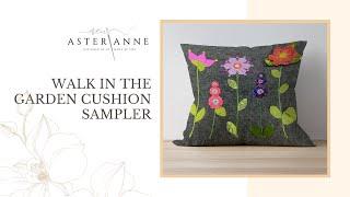 WITG - Walk In The Garden Cushion Sampler